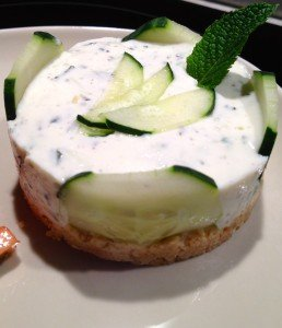 Cheesecake concombre menthe dans Entrees IMG_0327-258x300