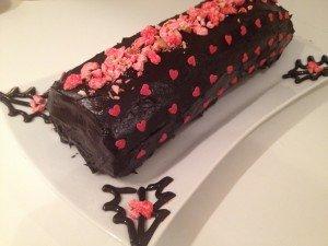 Bûche chocolat et pralines roses dans Desserts img_0468-300x225